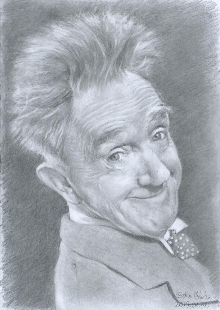 Stan Laurel by bati